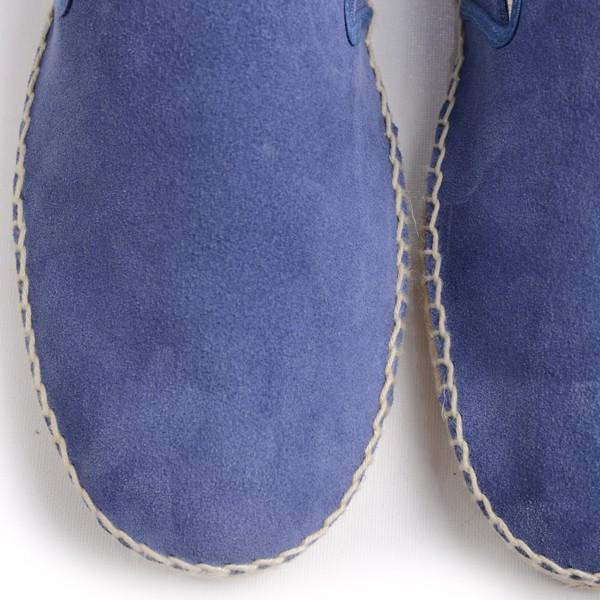 カルザノール メンズ CALZANOR MEN'S 1783 スエードスリッポン ブルー系 エスパドリーユ ジュートサンダル スエードアッパー ラバーソール|eton|05
