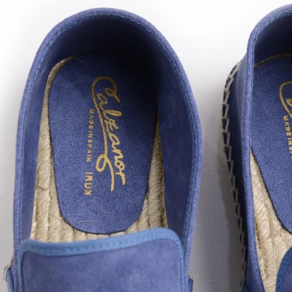 カルザノール メンズ CALZANOR MEN'S 1783 スエードスリッポン ブルー系 エスパドリーユ ジュートサンダル スエードアッパー ラバーソール|eton|06