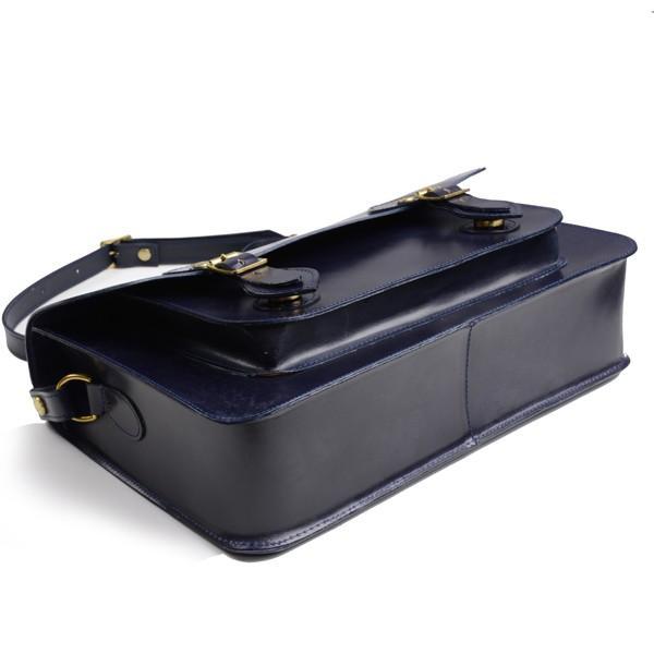 グレンロイヤル GLENROYAL サッチェルバッグ ニューブルー 02-6026 13インチサイズ(A4収納)手提げ&ショルダーバッグ ブライドルレザー|eton|04