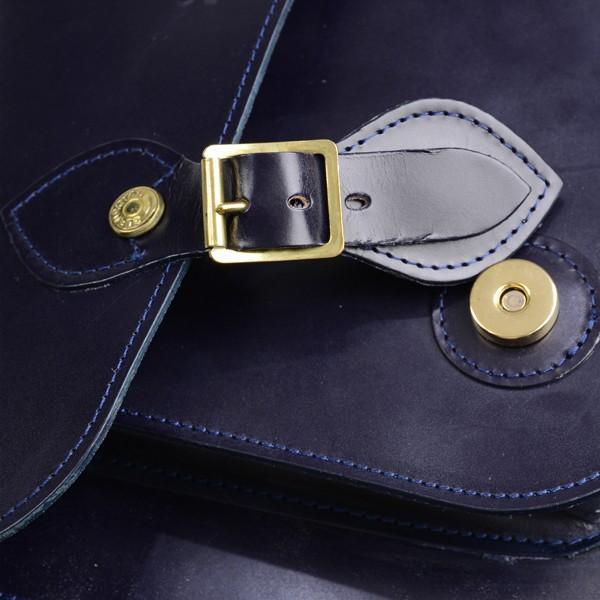 グレンロイヤル GLENROYAL サッチェルバッグ ニューブルー 02-6026 13インチサイズ(A4収納)手提げ&ショルダーバッグ ブライドルレザー|eton|07