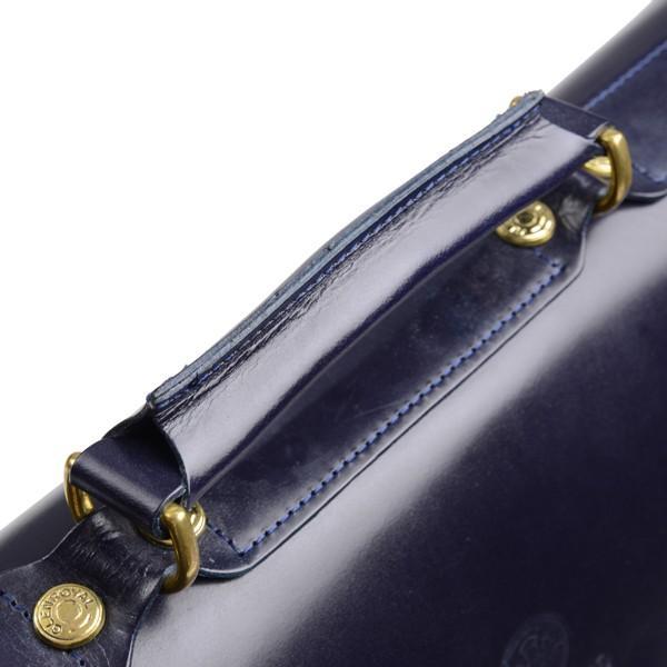 グレンロイヤル GLENROYAL サッチェルバッグ ニューブルー 02-6026 13インチサイズ(A4収納)手提げ&ショルダーバッグ ブライドルレザー|eton|08