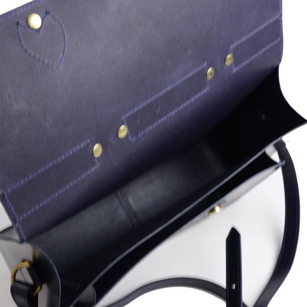 グレンロイヤル GLENROYAL サッチェルバッグ ニューブルー 02-6026 13インチサイズ(A4収納)手提げ&ショルダーバッグ ブライドルレザー|eton|09