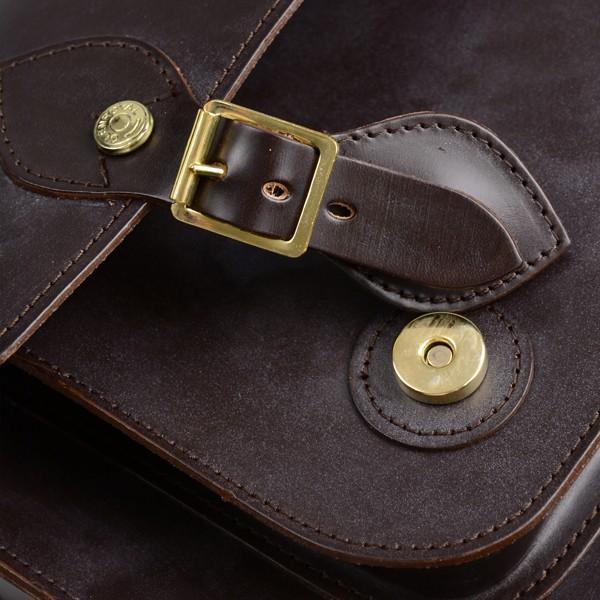 グレンロイヤル GLENROYAL サッチェルバッグ シガー 02-6026 13インチサイズ(A4収納)手提げ&ショルダーバッグ ブライドルレザー eton 07