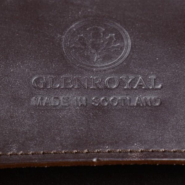 グレンロイヤル GLENROYAL サッチェルバッグ シガー 02-6026 13インチサイズ(A4収納)手提げ&ショルダーバッグ ブライドルレザー eton 10