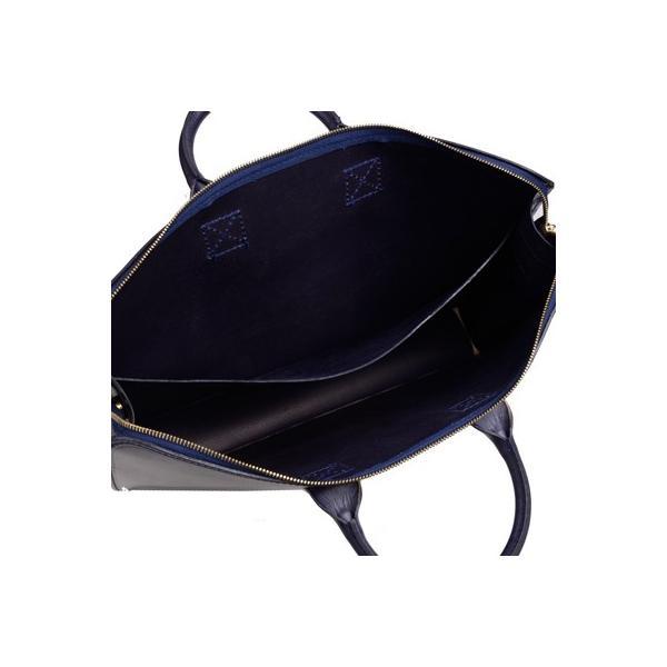 グレンロイヤル GLENROYAL ブリーフケース書類バッグ ダークブルー 02-5258  ライトウエイト ブライドルレザー eton 07