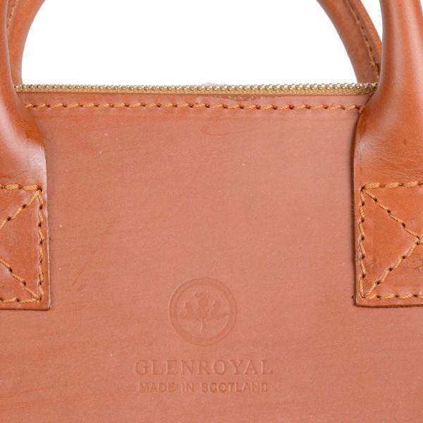 グレンロイヤル GLENROYAL ブリーフケース書類バッグ オックスフォードタン 02-5258  ライトウエイト ブライドルレザー|eton|06