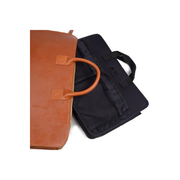 グレンロイヤル GLENROYAL ブリーフケース書類バッグ オックスフォードタン 02-5258  ライトウエイト ブライドルレザー|eton|09