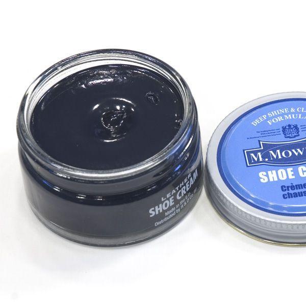 M.モゥブレィ(M.MOWBRAY)《シュークリームジャー(乳化性タイプ、革靴用クリーム・ケア&メンテナンス用)補色、栄養クリーム No 21》ネイビー