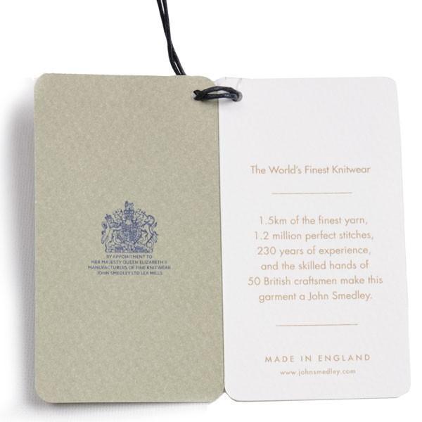 春夏 ジョンスメドレー メンズ JOHN SMEDLEY 30ゲージ Vネックカーディガン 長袖綿ニット ネイビー シーアイランドコットン 英国王室ご用達|eton|09