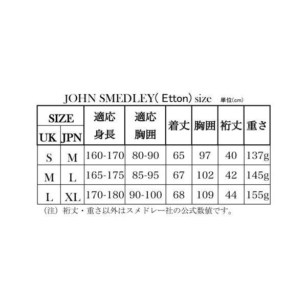 春夏 ジョンスメドレー メンズ JOHN SMEDLEY 半袖ポロニットシャツ「イートン」ボーダークレリックポロ シーアイランドコットン 英国王室御用達 シルバー|eton|10