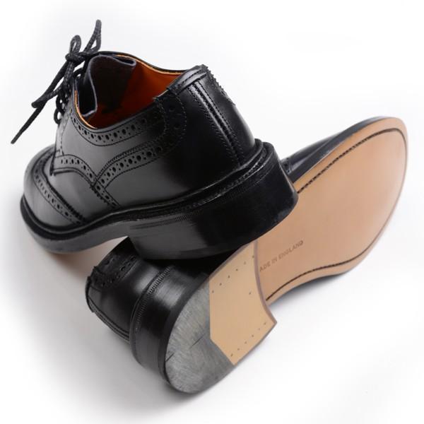 トリッカーズ レディースTRICKER'S LADIES ウィングチップ(短靴)カントリーシューズ アン L5679 ブラックカーフ レザーソール|eton|02