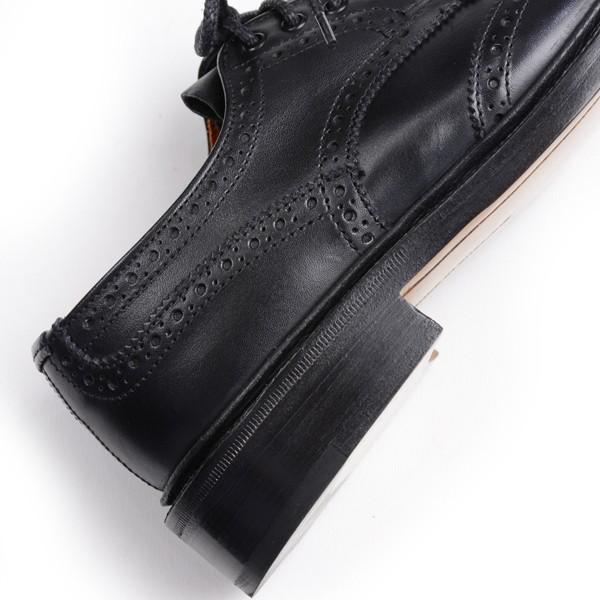 トリッカーズ レディースTRICKER'S LADIES ウィングチップ(短靴)カントリーシューズ アン L5679 ブラックカーフ レザーソール|eton|05