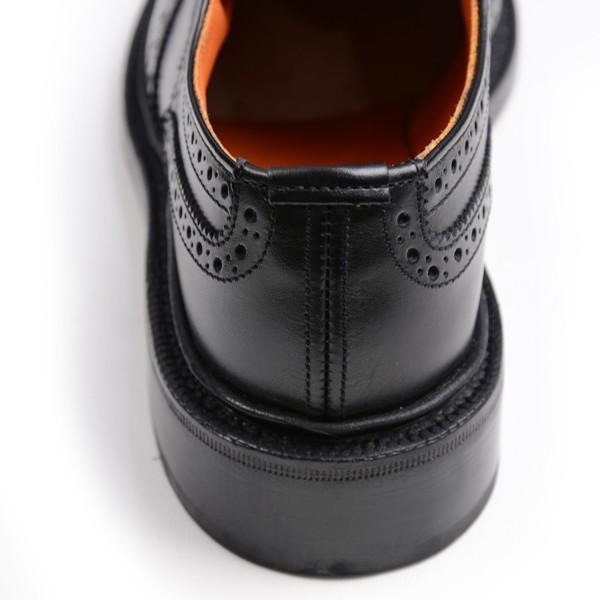トリッカーズ レディースTRICKER'S LADIES ウィングチップ(短靴)カントリーシューズ アン L5679 ブラックカーフ レザーソール|eton|06