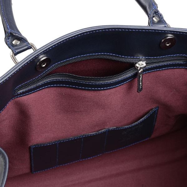 タスティング TUSTING ニューキンボルトン ブリーフトートバッグ 2 ネイビー オールド アトランティックレザー 英国製メンズバッグ|eton|07