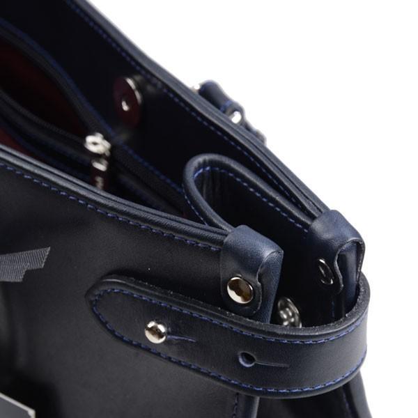 タスティング TUSTING ニューキンボルトン ブリーフトートバッグ 2 ネイビー オールド アトランティックレザー 英国製メンズバッグ|eton|08
