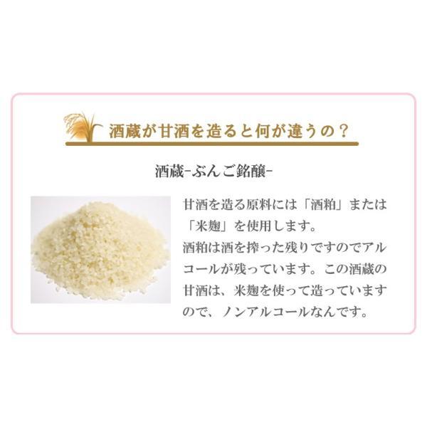 ノンアルコール 酒蔵のあまざけ 900ml 大分県 ぶんご銘醸 甘酒 etoshin 04