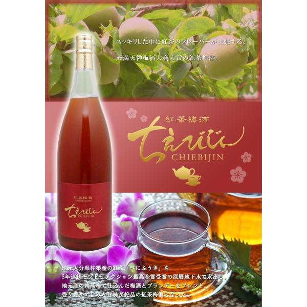 紅茶梅酒 ちえびじん 720ml 大分県 中野酒造|etoshin|03