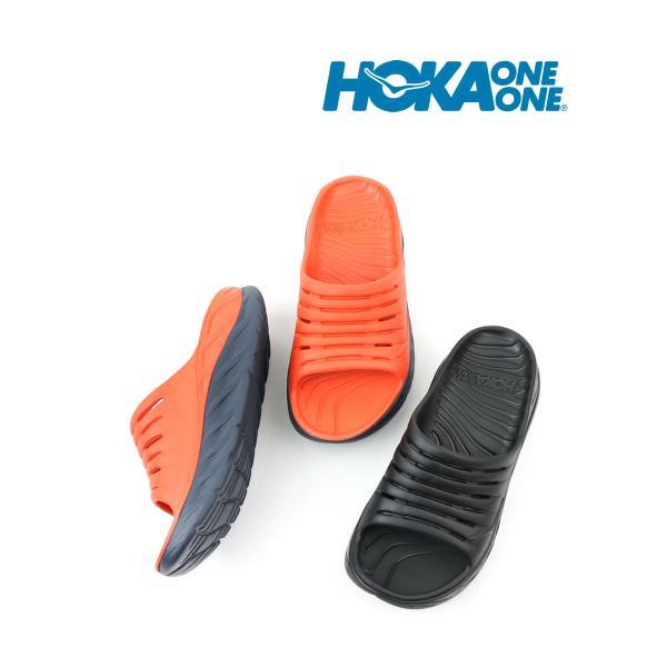 ホカオネオネ サンダル リカバリーサンダル ORA RECOVERY SLIDE オラ リカバリー スライド  HOKA ONE ONE 2019春夏新作 メンズ 国内正規品
