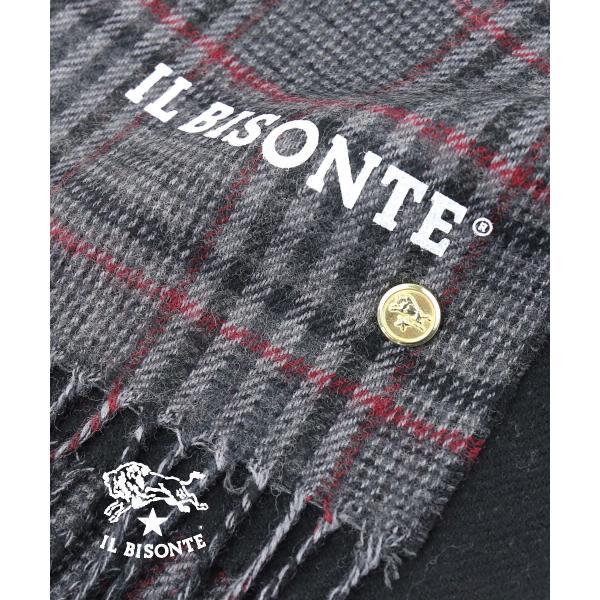 イルビゾンテ IL BISONTE 真鍮ロゴ入り ピンバッジ・411747-0061402 メール便可能1