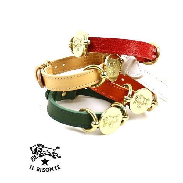 イルビゾンテ IL BISONTE レザー コンチョ メダル付きブレスレット・5482300397-0061502 メール便可能3|etre