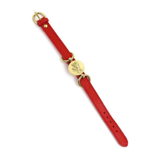 イルビゾンテ IL BISONTE レザー コンチョ メダル付きブレスレット・5482300397-0061502 メール便可能3|etre|06