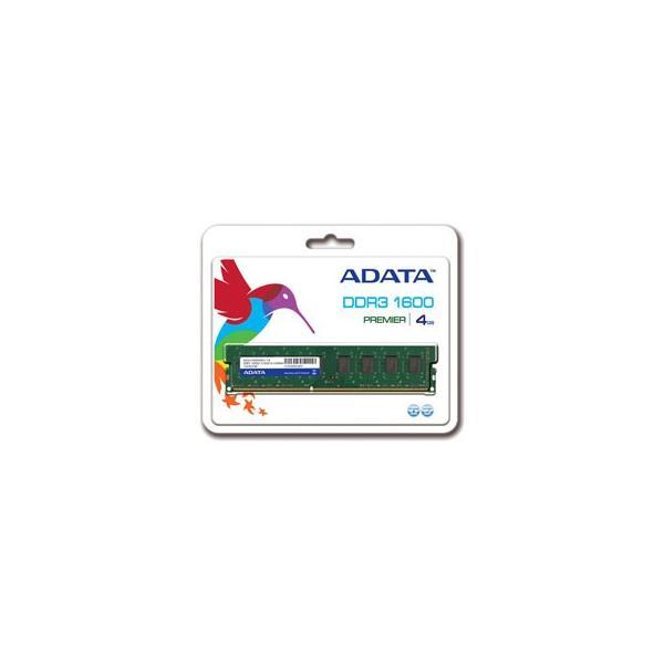 デスクトップPC用メモリ ADATA AD3U1600W4G11-R [4GB DDR3 1600MHz(PC3-12800) 240Pin Unbuffered DIMM 512x8] etrend-y