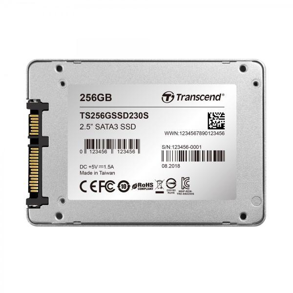 SSD トランセンド TS256GSSD230S [256GB SSD230シリーズ 2.5インチ SATA3 3D TLC搭載 アルミ筐体]|etrend-y|06