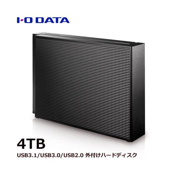 外付HDD 4TB アイオーデータ EX-HD4CZ [USB 3.0/2.0対応 外付ハードディスク 4TB ブラック]