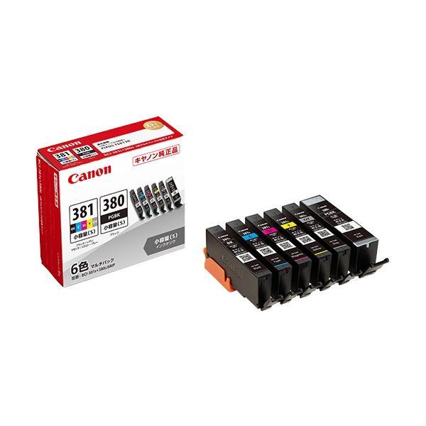 プリンターインクキヤノンBCI-381s+380s/6MP インクタンク2344C004