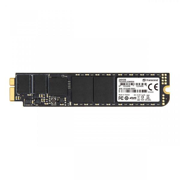 SSD トランセンド TS240GJDM500 [240GB JetDrive 500 SSDアップグレードキット MacBook Air 11 & 13 Late 2010/Mid 2011用]|etrend-y