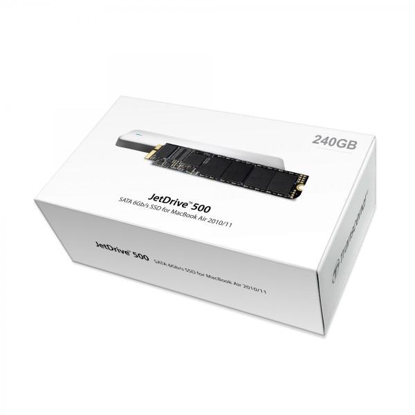 SSD トランセンド TS240GJDM500 [240GB JetDrive 500 SSDアップグレードキット MacBook Air 11 & 13 Late 2010/Mid 2011用]|etrend-y|03