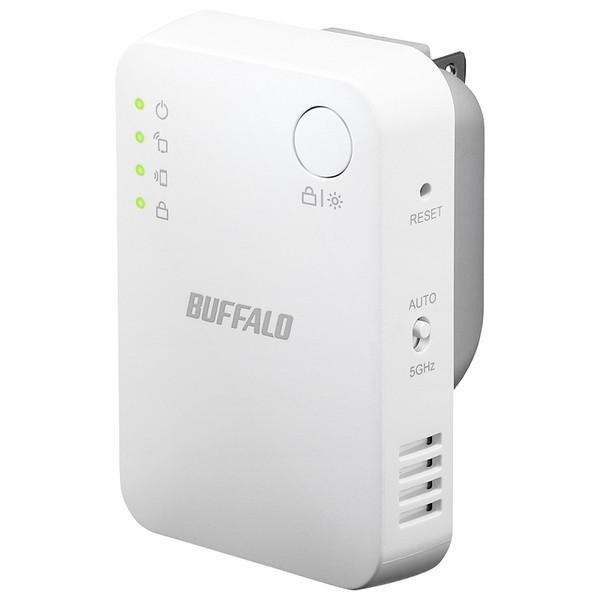 無線LAN中継機 バッファロー AirStation WEX-1166DHPS [WLAN中継機 11ac/n/g/b 866+300Mb コンパクト]