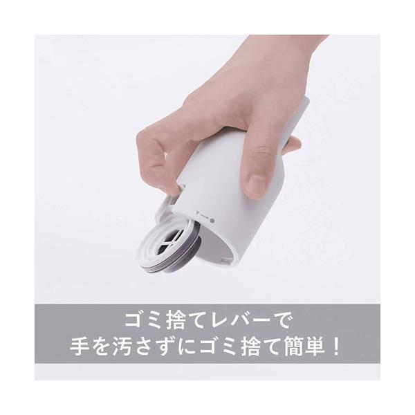 卓上クリーナー ツインバード HC-E205W [ボトル型クリーナー ホワイト]【ハンディクリーナー】|etrend-y|06