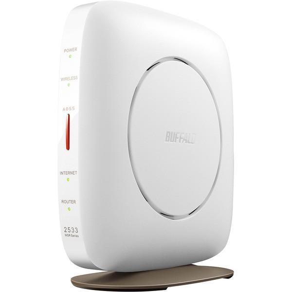 無線LANアクセスポイント バッファロー WSR-2533DHP3-WH [WLAN親機 11ac/n/a/g/b 1733+800M ホワイト]