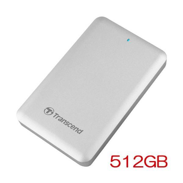 ポータブルSSD トランセンド TS512GSJM500 [StoreJet 500 Thunderbolt/USB 3.0対応 ポータブルSSD 512GB]|etrend-y