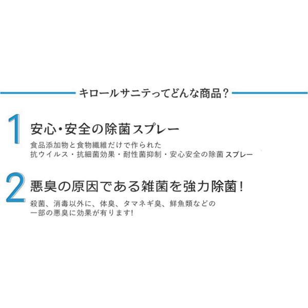 静岡大学発ベンチャー開発 キロール・サニテ 20L 白金ナノ配合 アルコールフリーで手荒れや過敏症の方におすすめのウイルス除菌|eu-bs|04