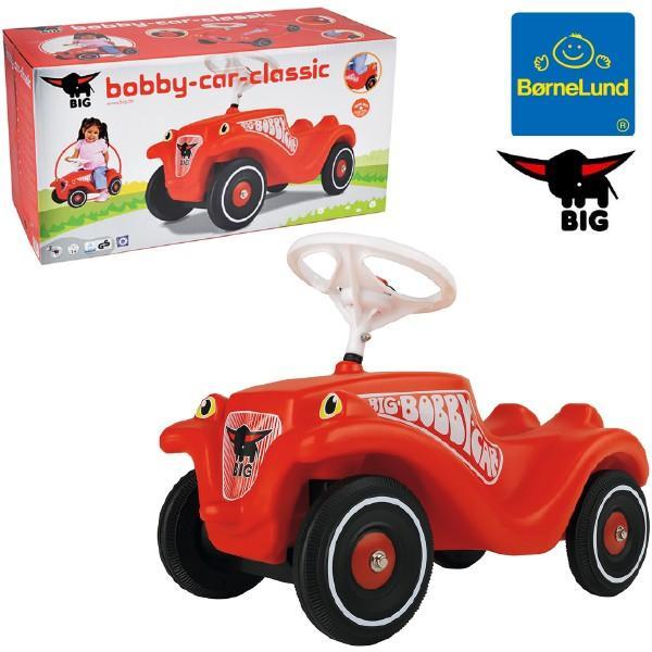 Bornelund ボーネルンド BIG ビッグ ボビーカー クラシック ~ 1歳半、2歳の男の子、女の子の誕生日プレゼント、クリスマスギフトに人気。