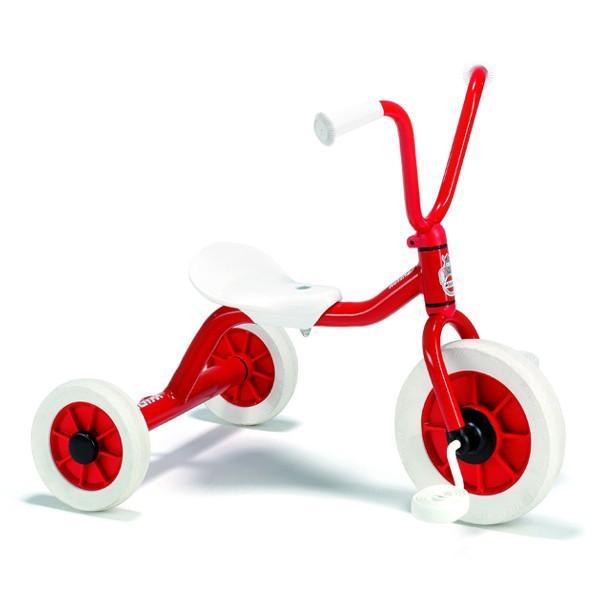BorneLund ボーネルンド Winther ウィンザー社 ペリカンデザイン三輪車 Vハンドル 赤