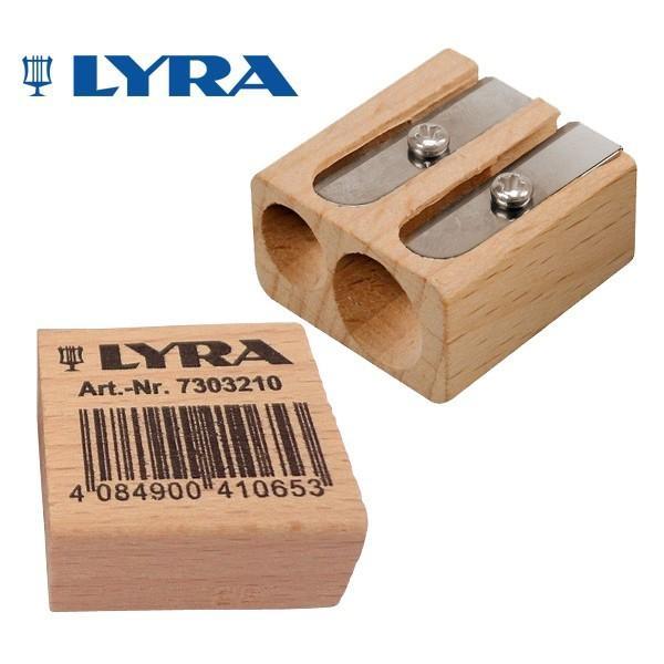 LYRA リラ社 ブナ材 ツインホール シャープナー eurobus
