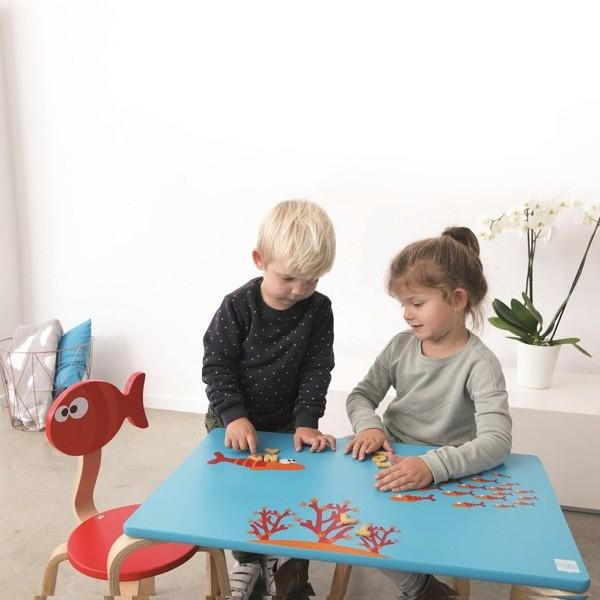 Scratch スクラッチ イス フィッシュ ~ 子供部屋のインテリアに人気、ベルギーのおもちゃメーカーScratch(スクラッチ)の子ども用の家具、木製の椅子です。|eurobus|02