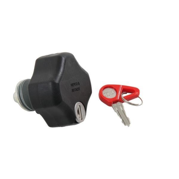 Hepco&Becker サイドケースホルダー Lock it system用ロックイットダイヤル(ブラック)