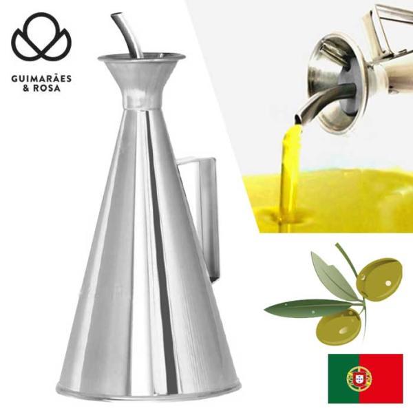 ギマランイスイホーザ Guimaraes & Rosa ステンレス製オリーブオイル専用ボトル オリーブオイルポット 250ml 18-10高級ステンレス