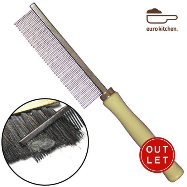 ユーロキッチン eurokitchen ブラシコムBrush Cleaning Comb 櫛タイプのブラシクリーナー ヘアブラシクリーナー アウトレット