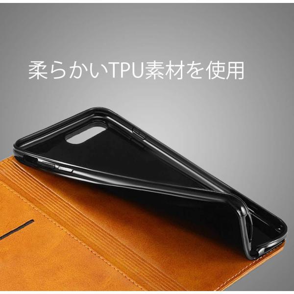 iPhone8 iPhone7 iPhone6 iPhone6s ケース アイホン8 アイフォン7 アイフォーン6 手帳型 カバー 送料無料 レザー 革 ブラウン レッド 赤 茶色 財布型 高級 eurokohaku 12