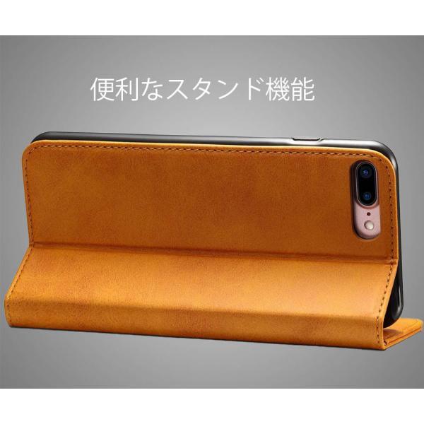 iPhone8 iPhone7 iPhone6 iPhone6s ケース アイホン8 アイフォン7 アイフォーン6 手帳型 カバー 送料無料 レザー 革 ブラウン レッド 赤 茶色 財布型 高級 eurokohaku 13