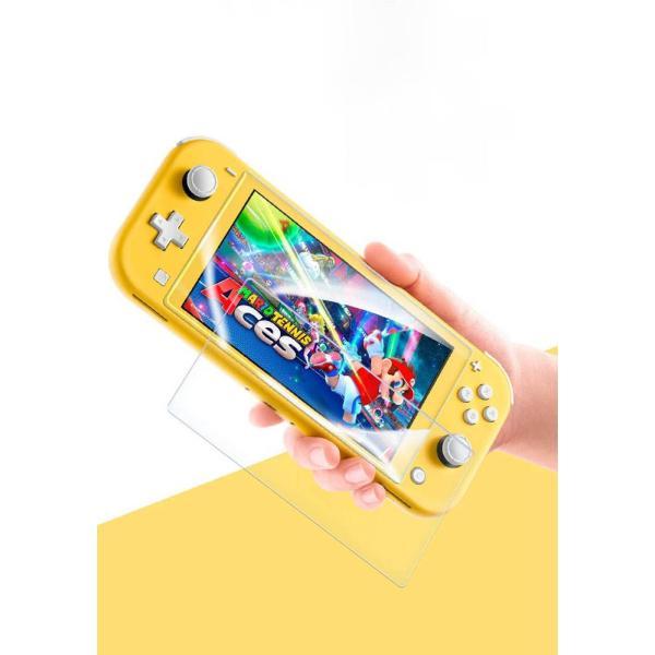 Nintendo Switch 任天堂スイッチ 保護フィルム 2枚セット 強化ガラス ブルーライト カット 液晶保護 ニンテンドースイッチ ガラスフィルム 耐衝撃 飛散防止|eurokohaku|11