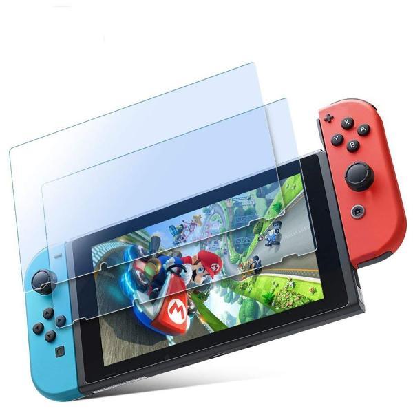 Nintendo Switch 任天堂スイッチ 保護フィルム 2枚セット 強化ガラス ブルーライト カット 液晶保護 ニンテンドースイッチ ガラスフィルム 耐衝撃 飛散防止|eurokohaku|09
