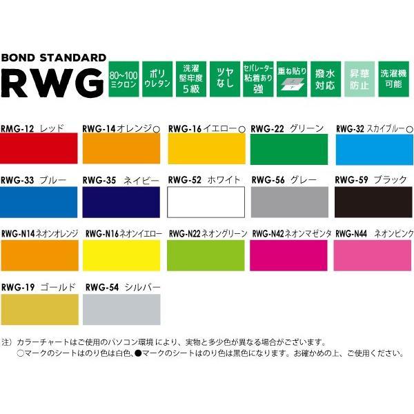 アイロンプリント用 撥水・ナイロン生地用特別色(38cm×25mロール)RWG-ZF|europort|02