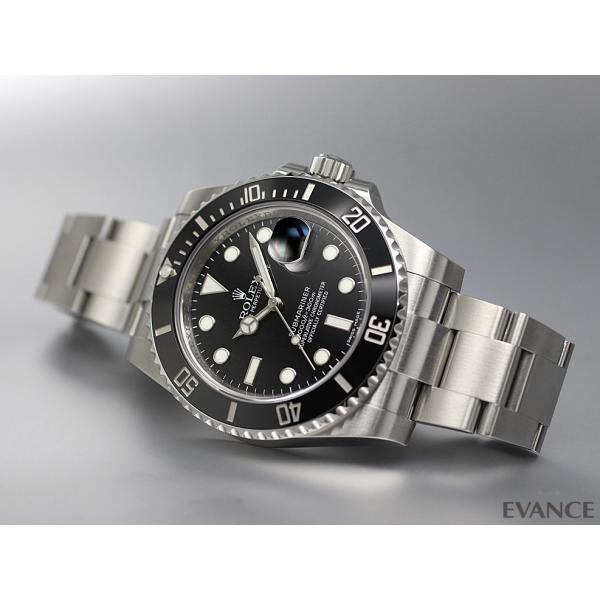 ロレックス サブマリーナデイト 116610LN ブラック ランダム番 メンズ ROLEX (中古)|evance-web|02