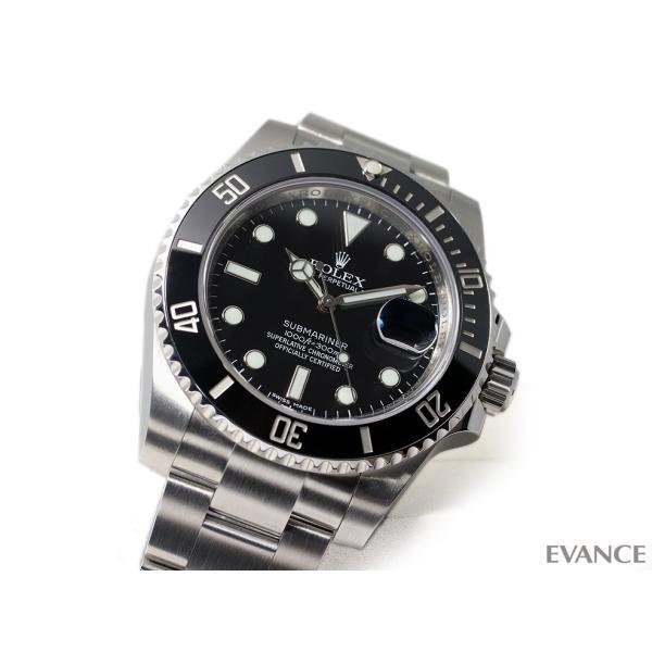ロレックス サブマリーナデイト 116610LN ブラック ランダム番 メンズ ROLEX (中古)|evance-web|03